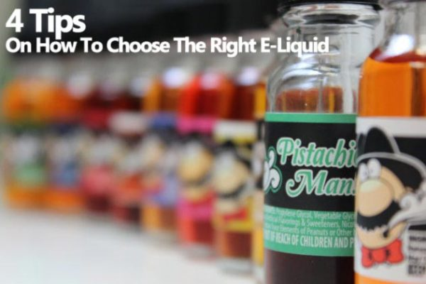 4 Tips On How To Choose The Right E-Liquid For Vaping